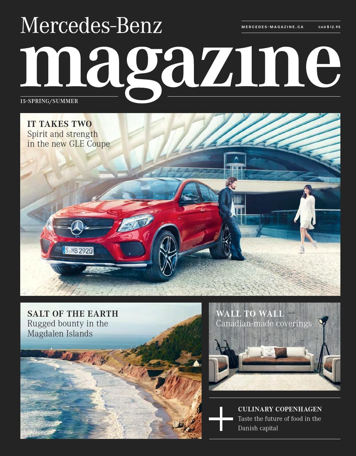 Mercedes benz magazine spring summer 2015 by spafax issuu for Mercedes benz magazine