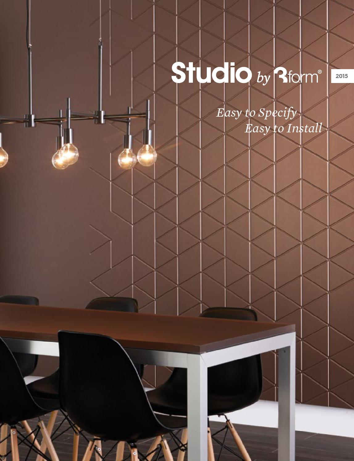 Studio By 3form Catalog 2015 By 3form Issuu