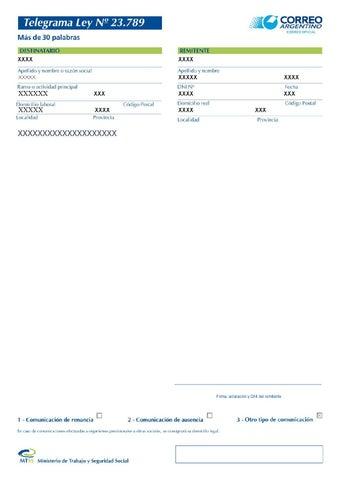 Carta Documento Modelo Lista Para Usar By Maxi M Issuu