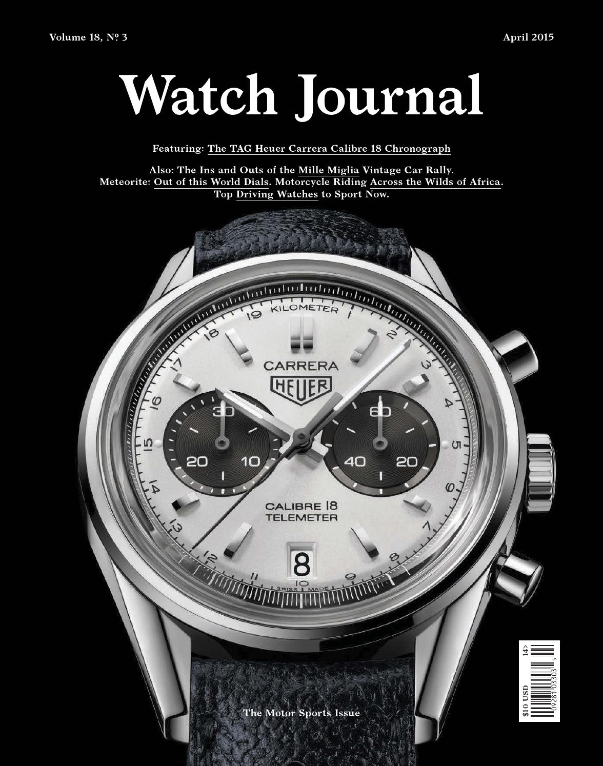 Watch Journal April 2015 by Watch Journal - issuu