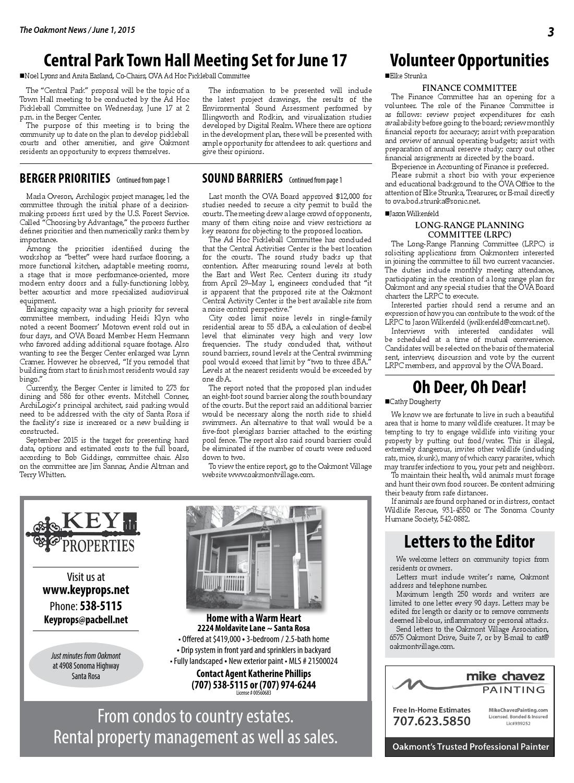 Oakmont News June 1, 2015