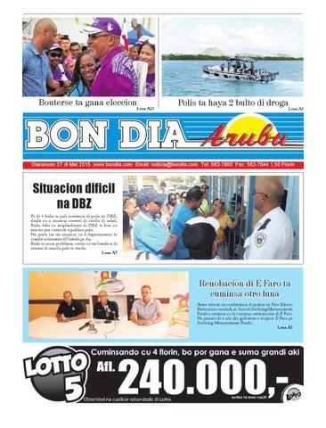 Bon Dia Aruba diaranson 27 mei 2015 by Bon Dia Aruba - issuu edcfbce1df5e