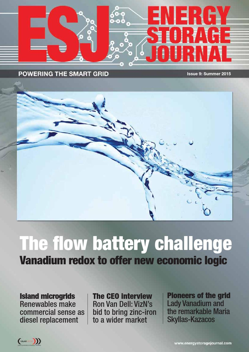 Energy Storage Journal - Summer 2015 - issue 9 by hamptonhalls - issuu
