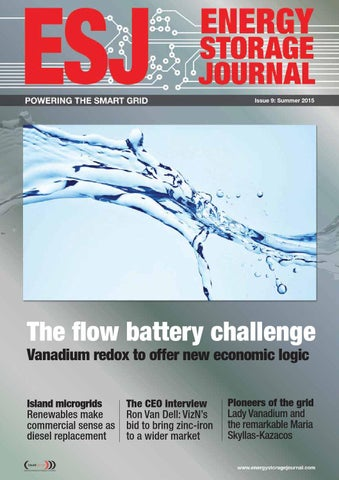 Energy Storage Journal - Summer 2015 - issue 9 by hamptonhalls - issuu