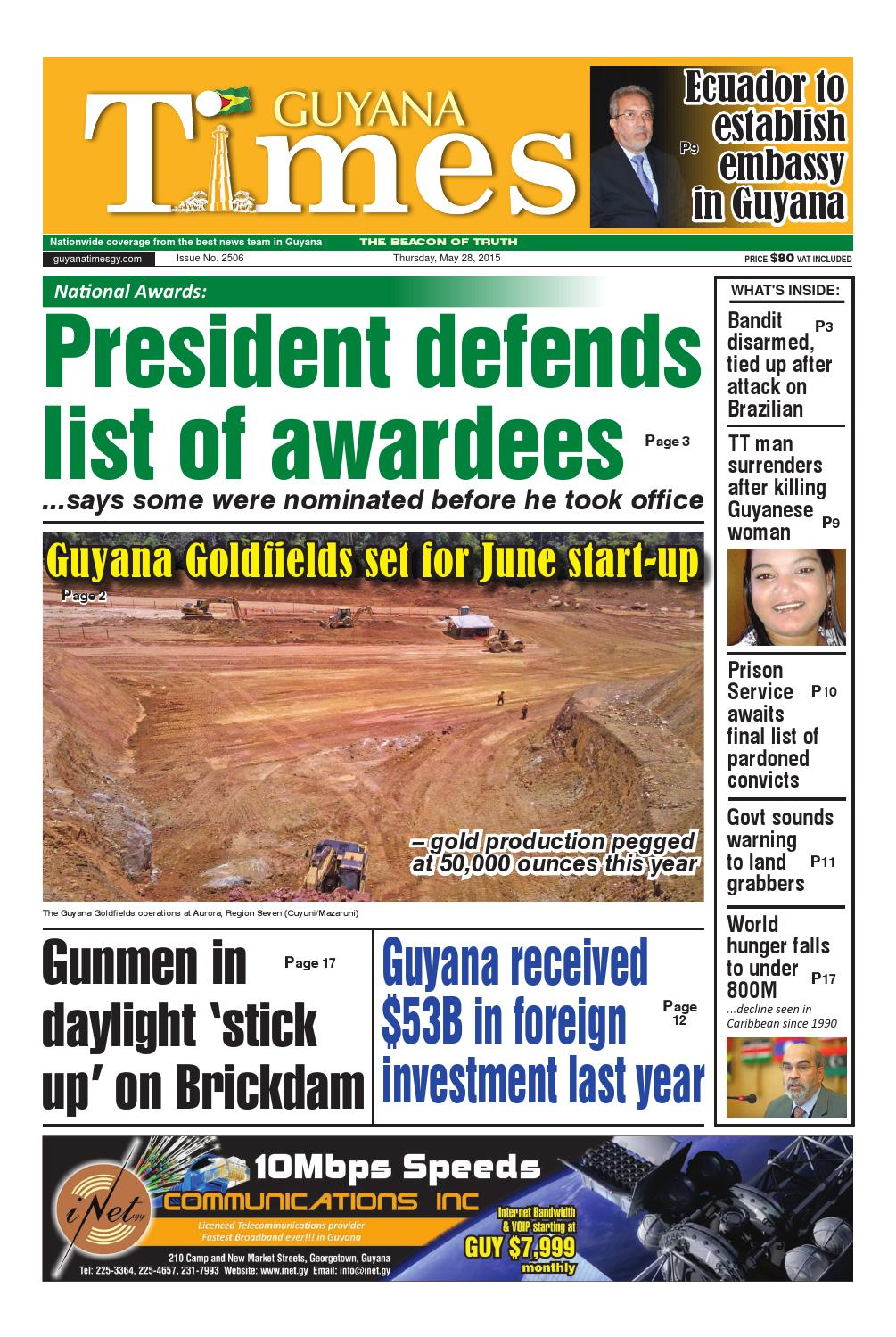 Guyana Times Daily - M...