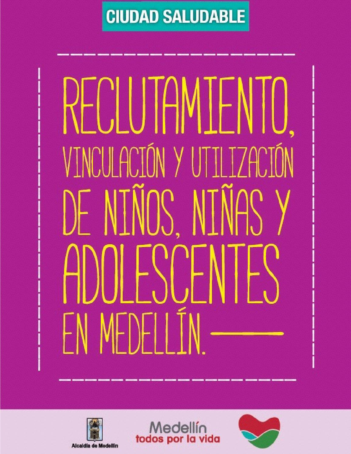 Reclutamiento y vinculación de niños, niñas y adolescentes en ...