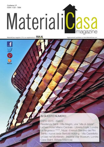 MaterialiCasa Magazine 2/2015 by Tile Edizioni - issuu