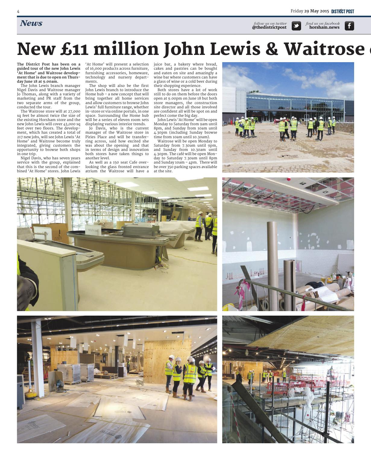 Flooring Companies Horsham: The District Post 29th May 2015 By The District Post