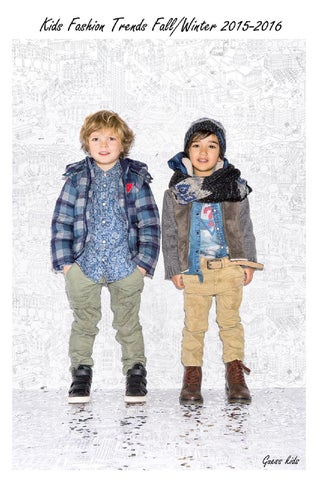 Kids Fashion Trends Fall/Winter 2015-2016 by Media Mania ...