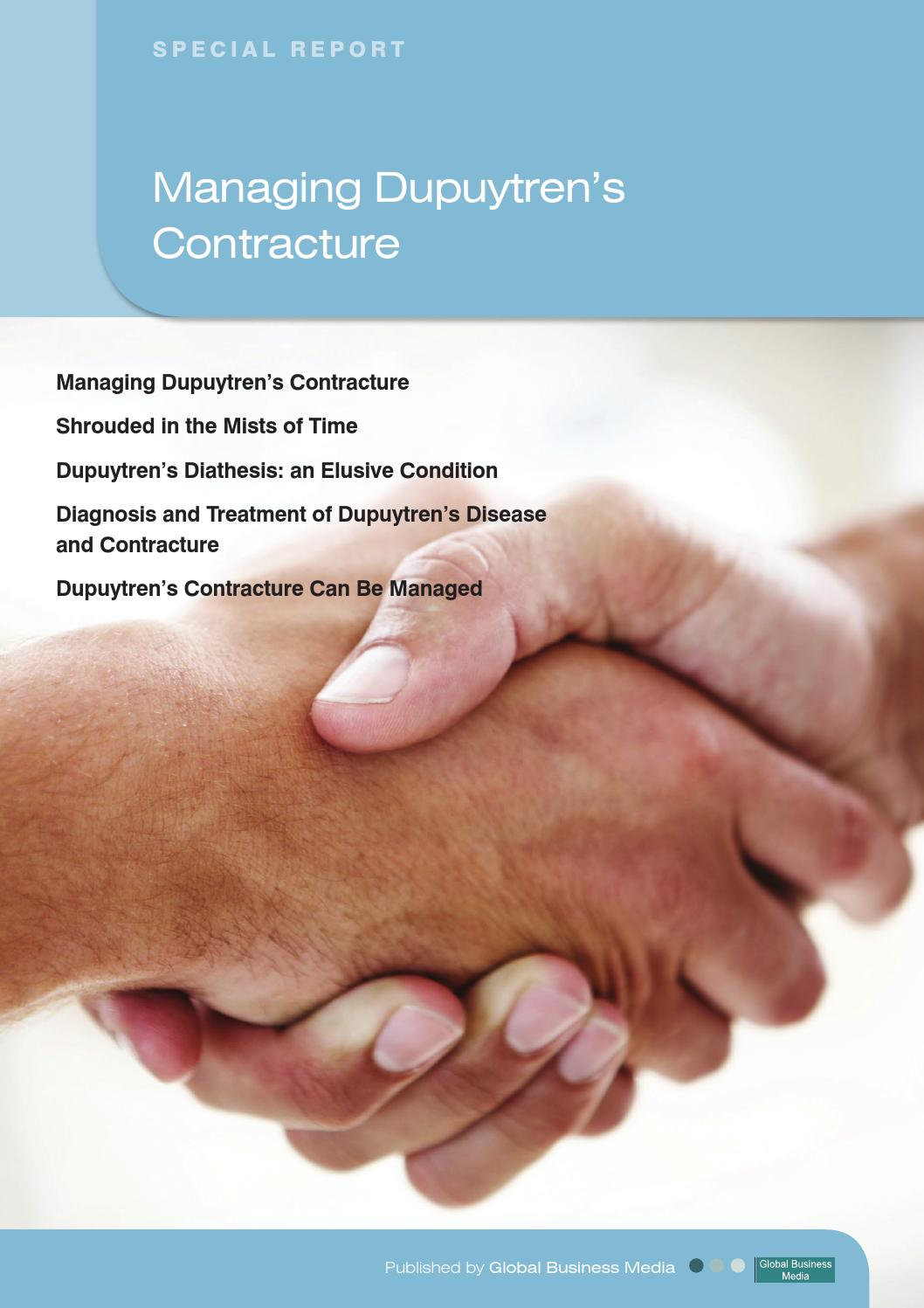 Primary Care Reports – Managing Dupuytren's Contracture ...
