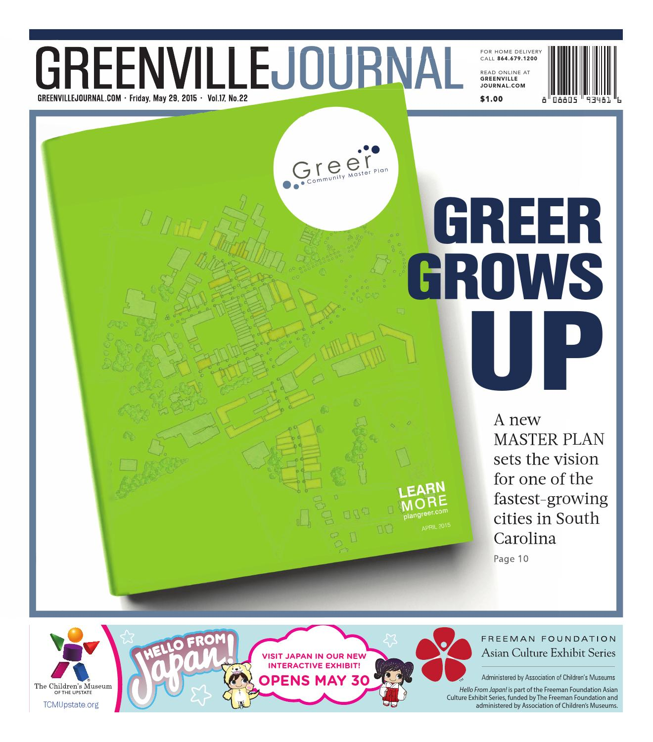 May 29 2015 Greenville Journal by munity Journals issuu