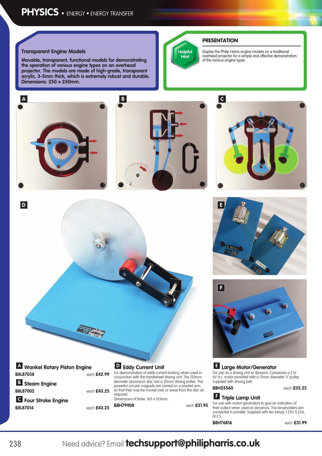Philip Harris Catalogue 2015/16 - Physics by Findel Ltd - issuu