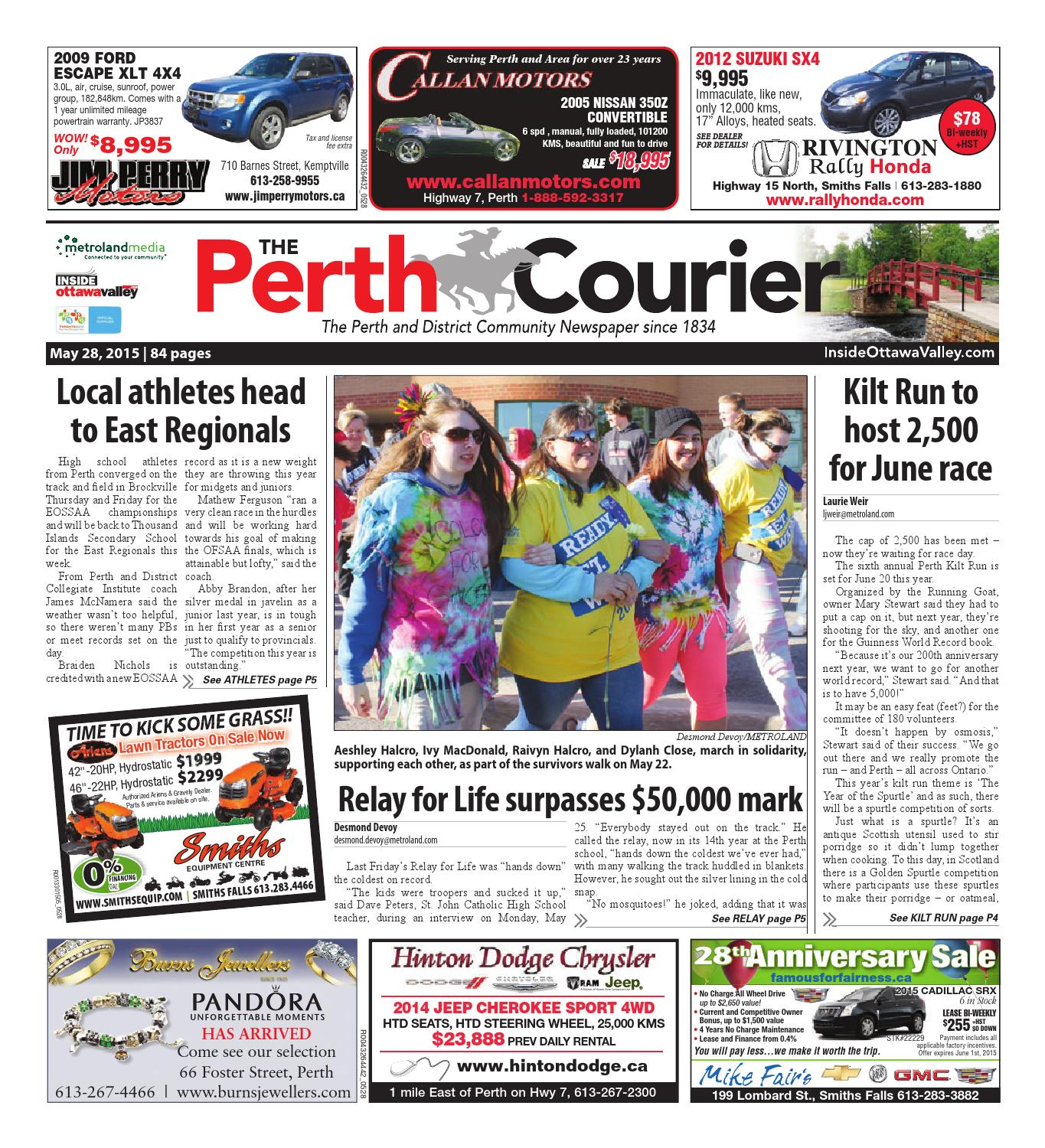 Perth052815 by metroland east the perth courier issuu fandeluxe Images