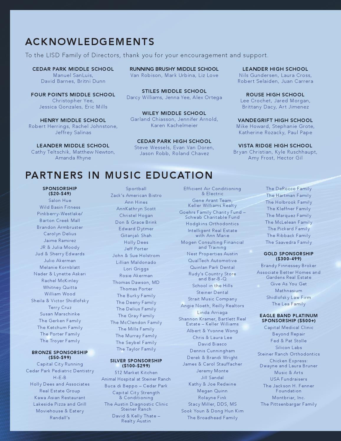 Canyon Ridge Middle School: 2014 Midwest Clinic Performance Program