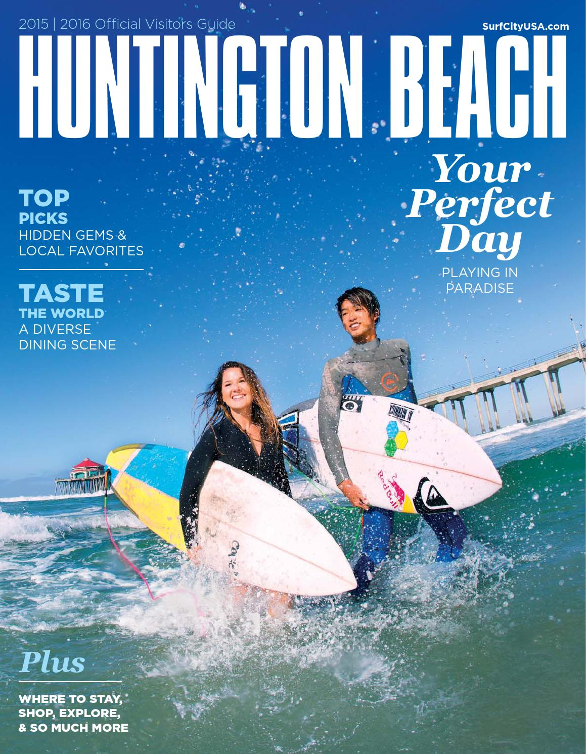 Huntington Beach 2015 2016 Official Visitors Guide By