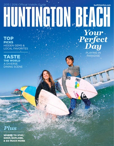 HUNTINGTON BEACH 2015 | 2016 OfямБcial Visitors Guide