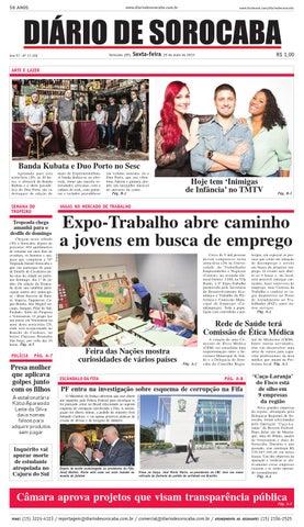 43e193563e Edição de 29 de maio de 2015 by DIÁRIO DE SOROCABA - issuu