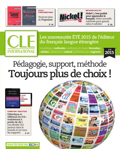 Catalogue cle international 2015 by cle international issuu page 1 fandeluxe Image collections