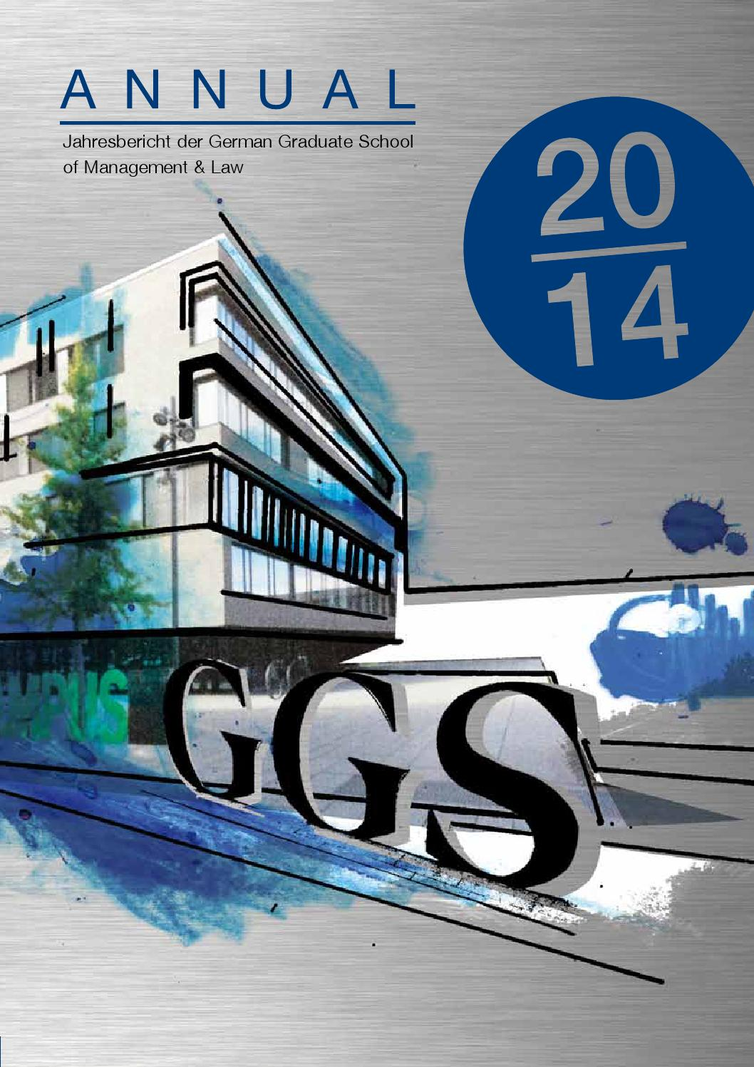GGS Annual 2014 by GGS Heilbronn - issuu