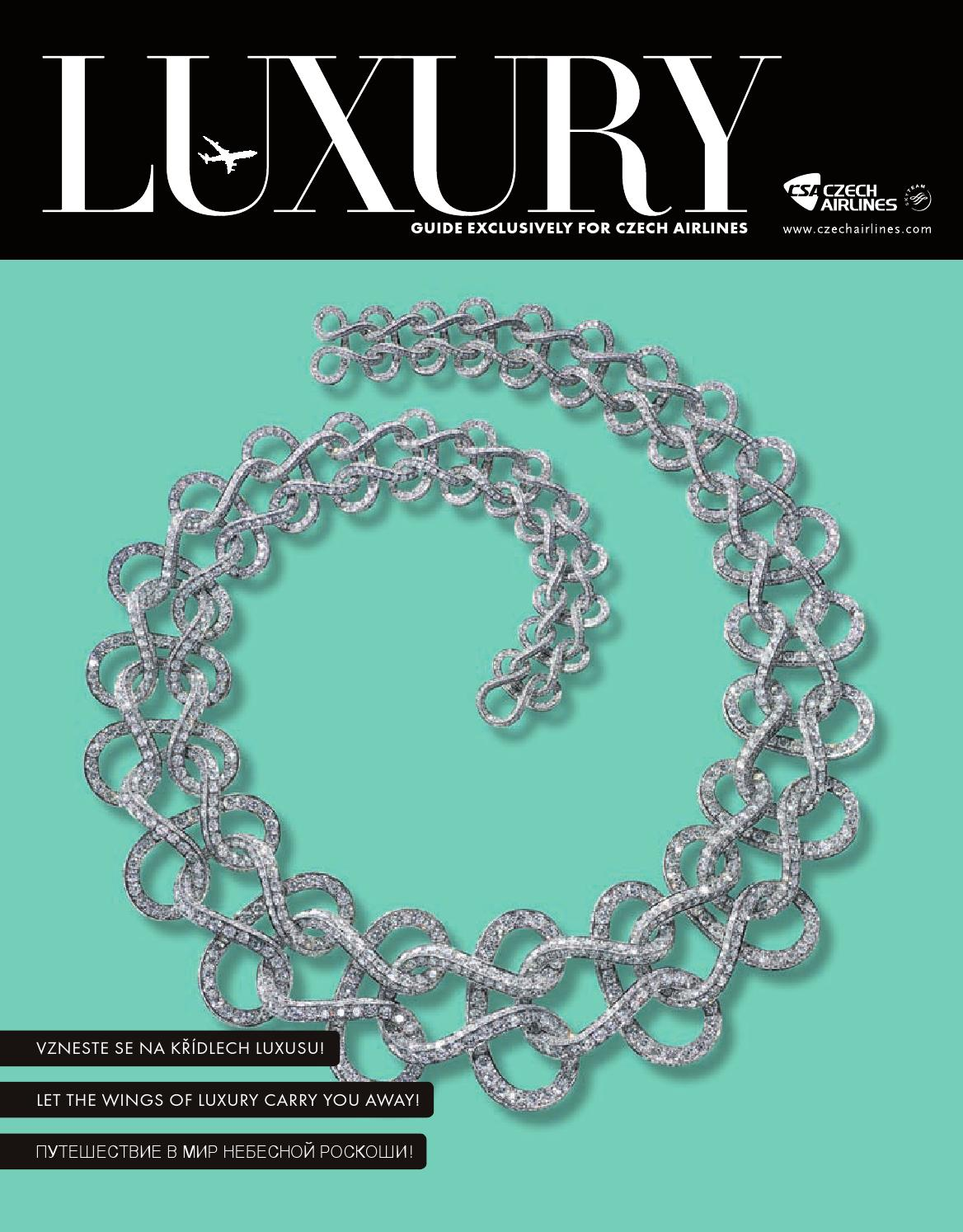 14 Luxury Guide for Czech Airlines 04/2015 by Kamil Sojka