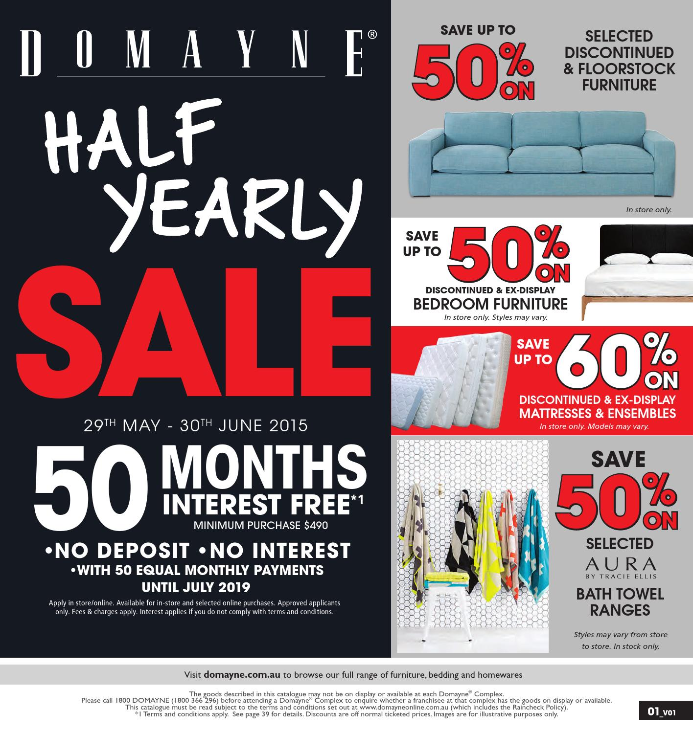 Awesome Domayne Half Yearly Sale By Generic Publications Issuu Pabps2019 Chair Design Images Pabps2019Com