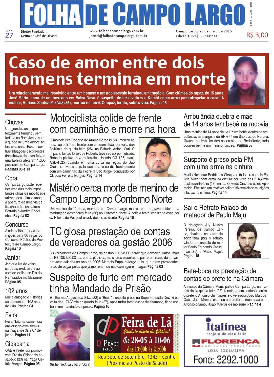 Folha de Campo Largo by Folha de Campo Largo - issuu 7e09d14a533