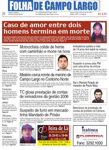 Folha de Campo Largo by Folha de Campo Largo - issuu 57422a6242b