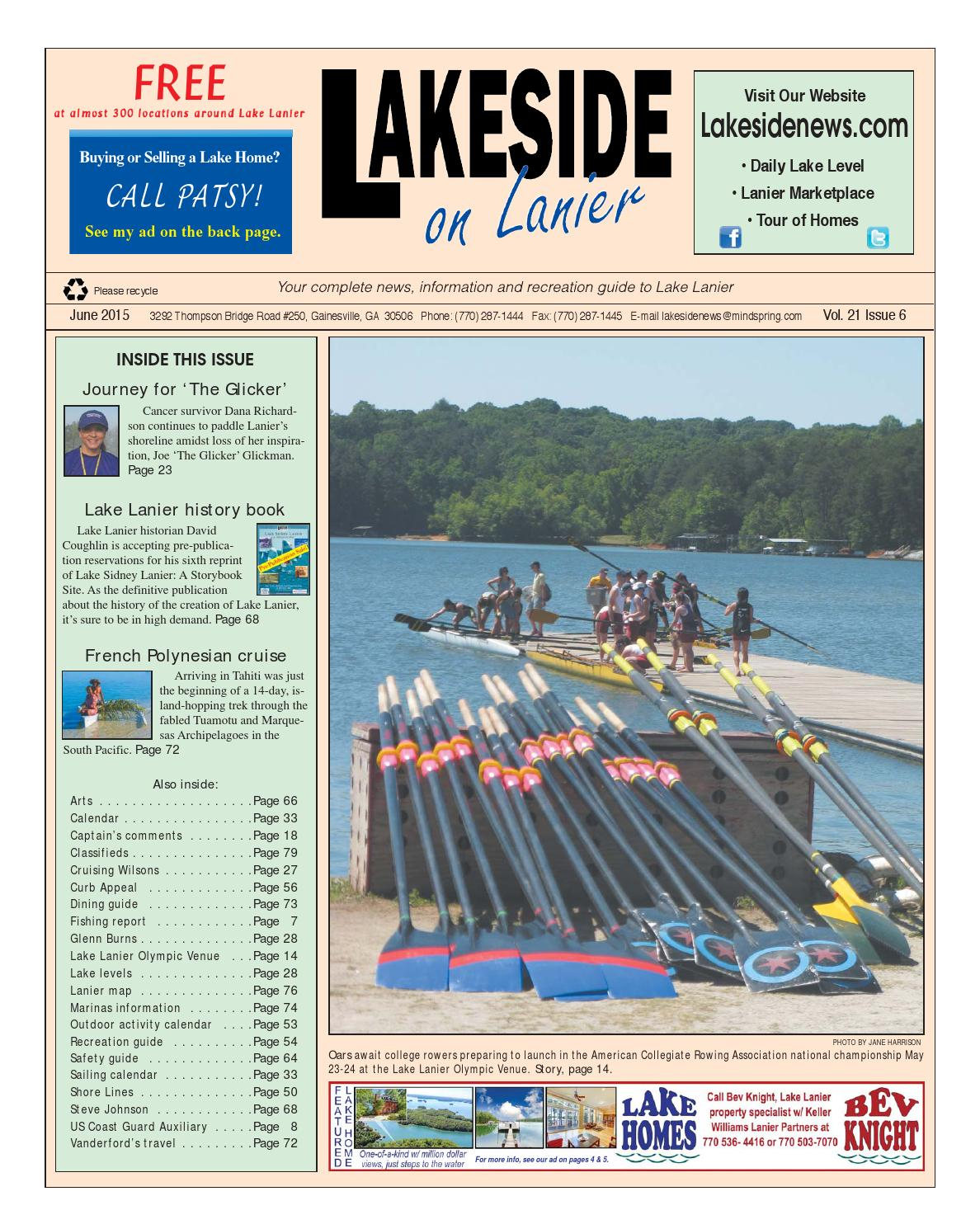 Lakesideonlanierjune2015 by Lanier Publishing Inc. - issuu