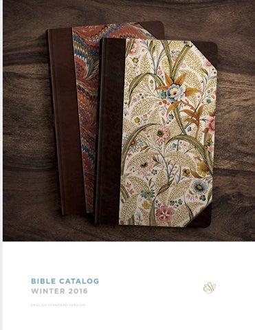 Esv Winter 2019 Bible Catalog By Crossway Issuu
