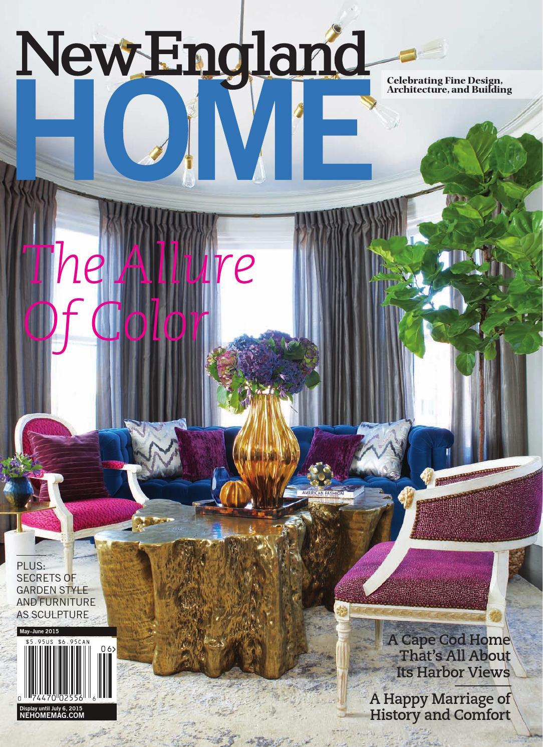 New England Home May June 2015 By Magazine LLC
