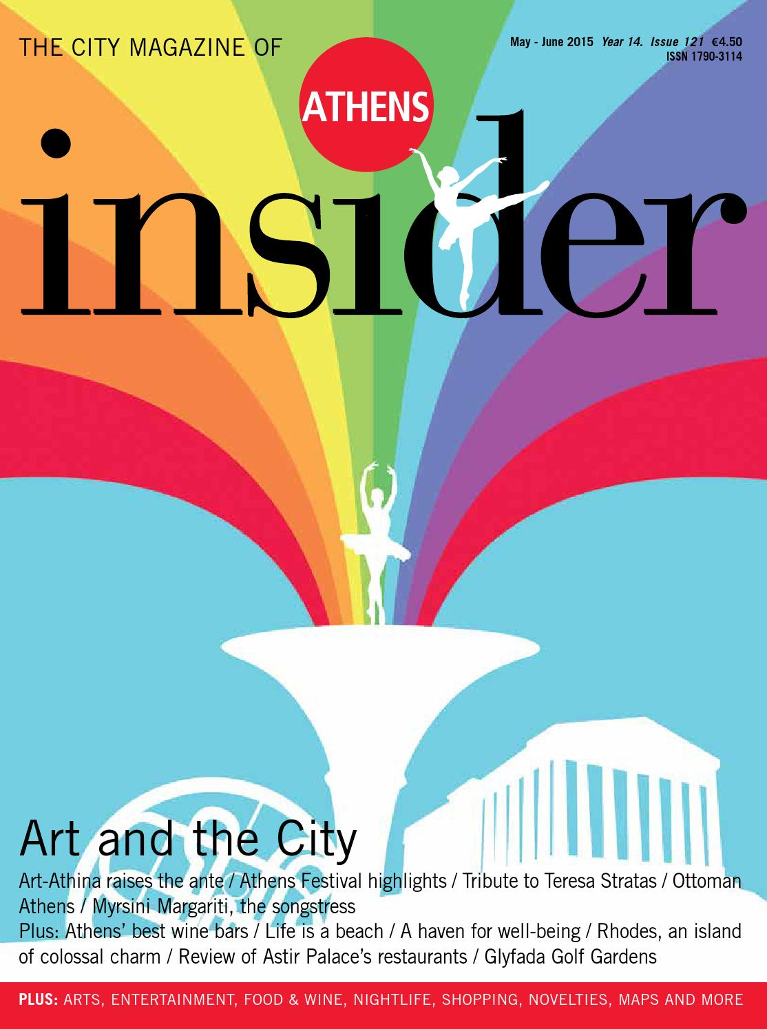 7a39b0b97022 Athens Insider 121 May-June 2015 by Insider Publications - issuu