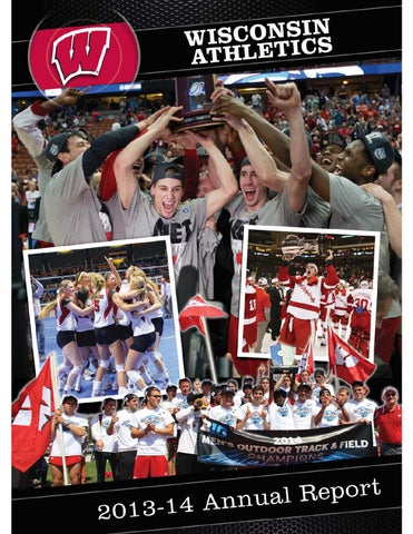 Uw Madison 17th Best Damn University In >> 2013 14 University Of Wisconsin Athletics Annual Report By Wisconsin