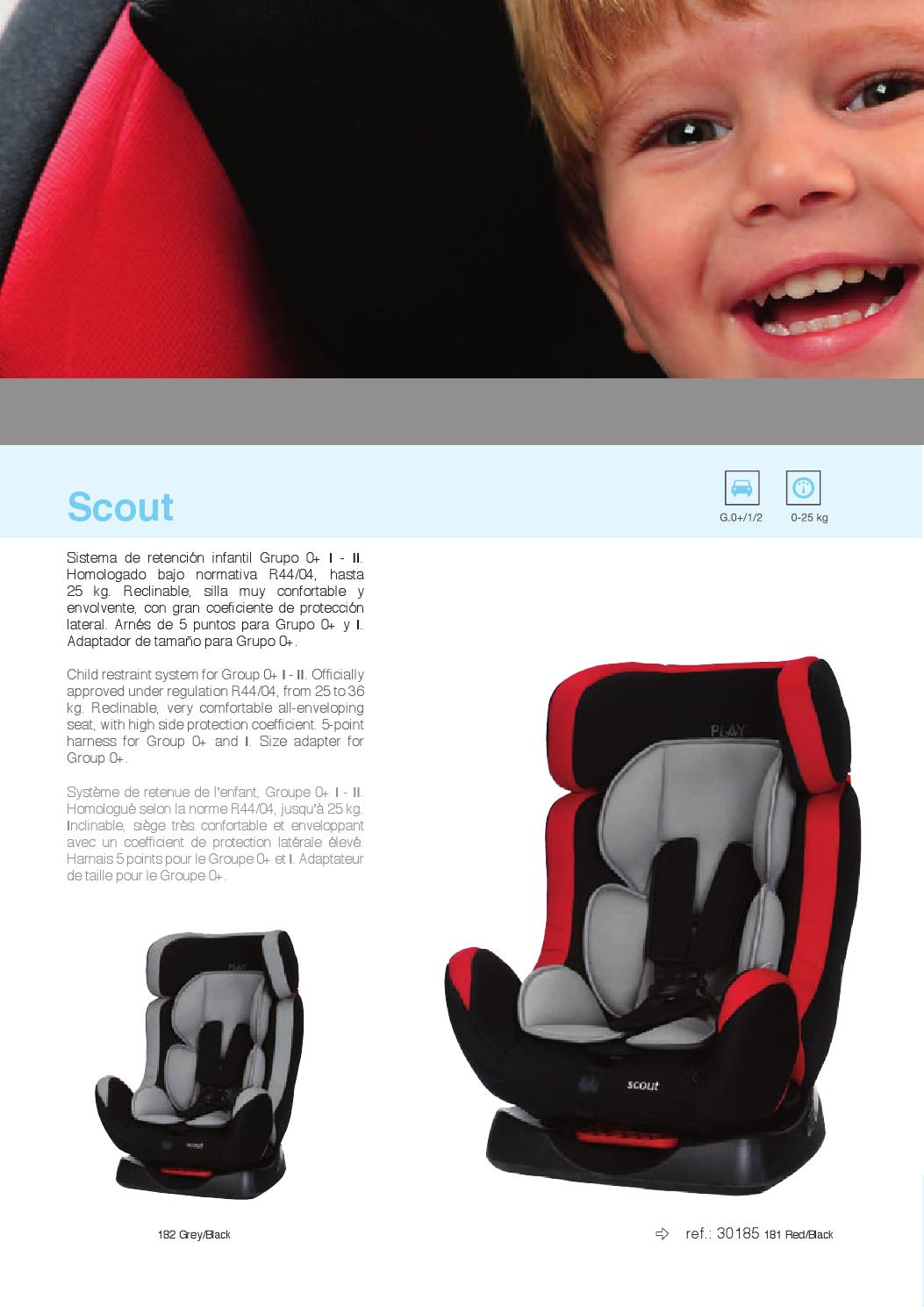 Scout by productos play s a issuu - Silla play scout ...