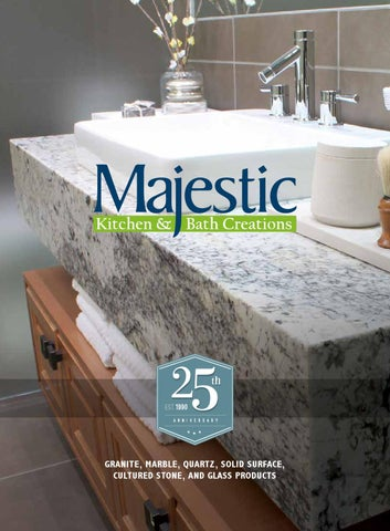 Majestic Kitchen & Bath Creations - 25th Anniversary Catalog by Kyle ...