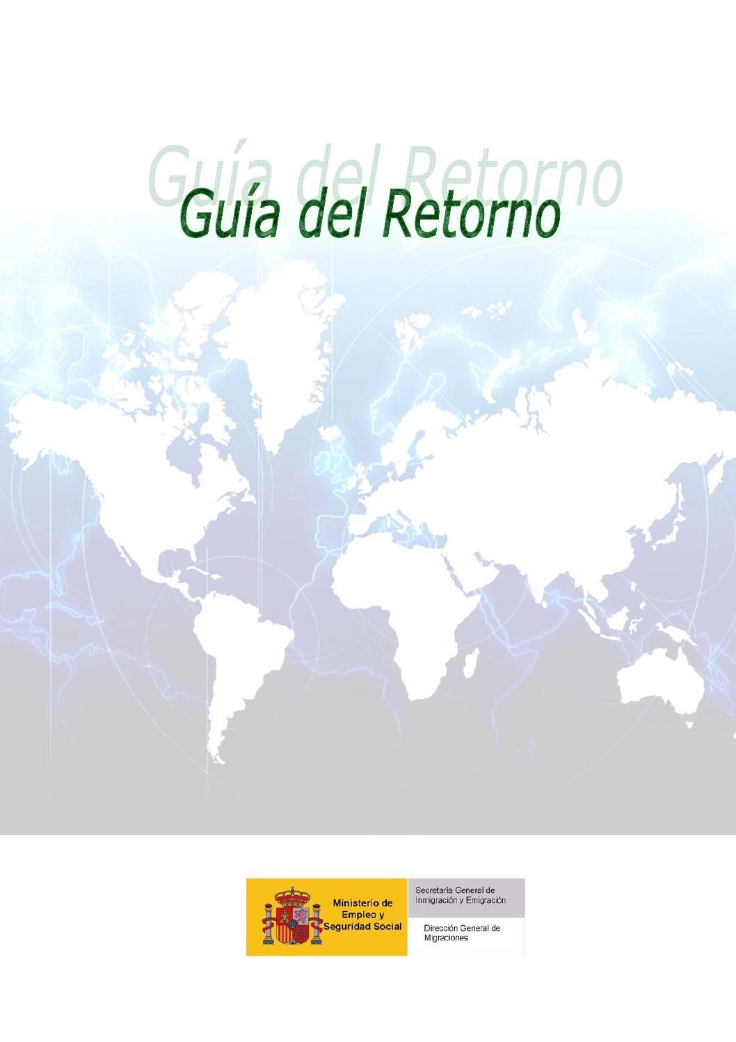 Guia para españoles retornados by Spanish Club of Winnipeg - issuu