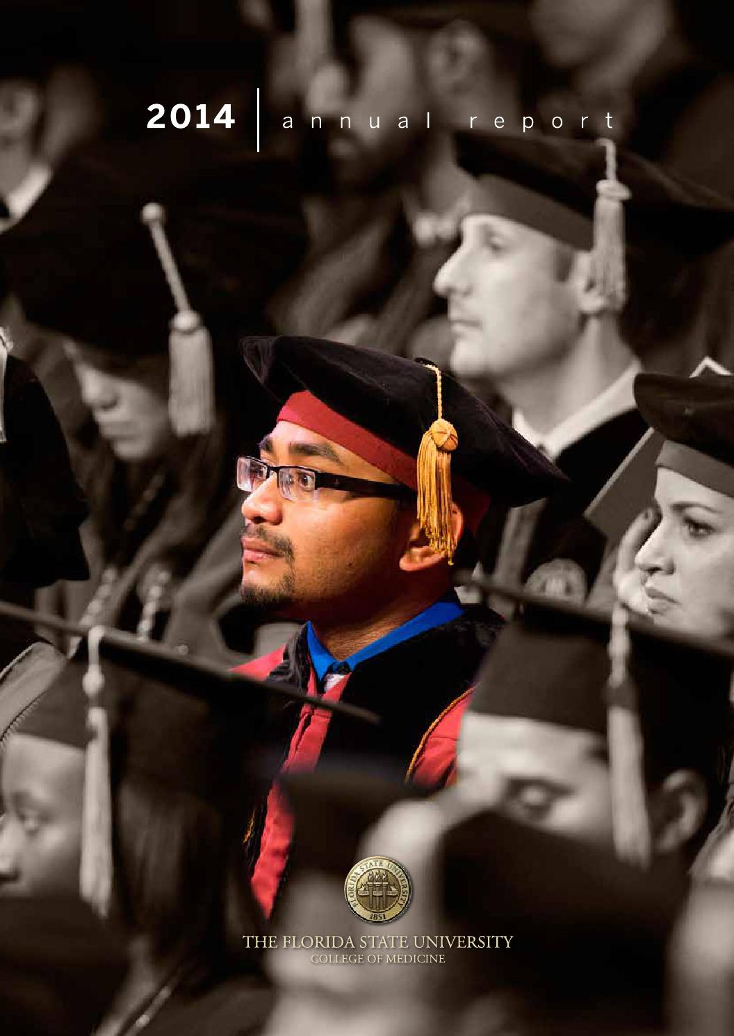 Florida State University College of Medicine 2014 Annual Report by ...