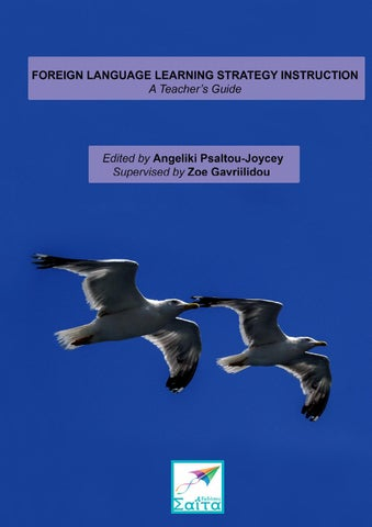 Foreign Language Learning Strategy Instruction A Teachers Guide By