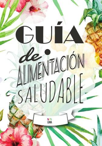Guía de Alimentación Saludable by Revista Lima Argentina - issuu