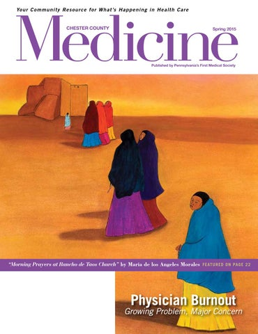 Chester County Medicine | Spring 2015 by Hoffmann Publishing