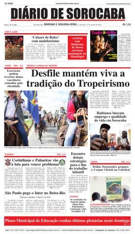 aff420247c Edição de 31 de maio de 2015 by DIÁRIO DE SOROCABA - issuu