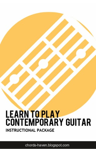 Learn to Play Contemporary Guitar by Chords Haven - issuu