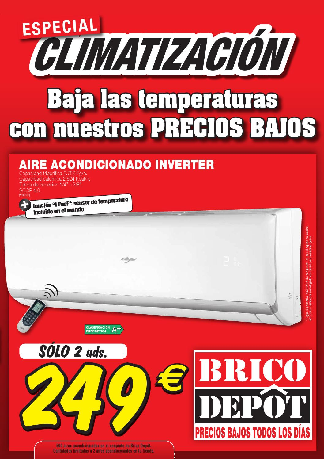 Especial climatizacion pamplona by losdescuentos issuu for Compresor de aire bricodepot