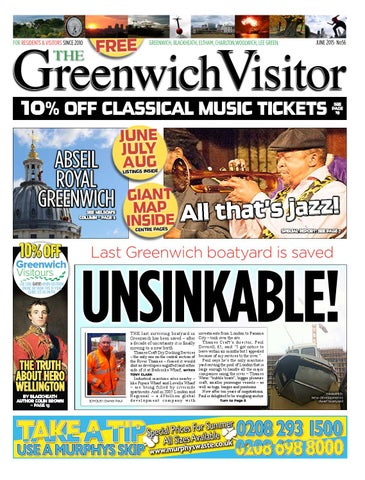 Greenwich Visitor June 2015 By The Greenwich Visitor Issuu