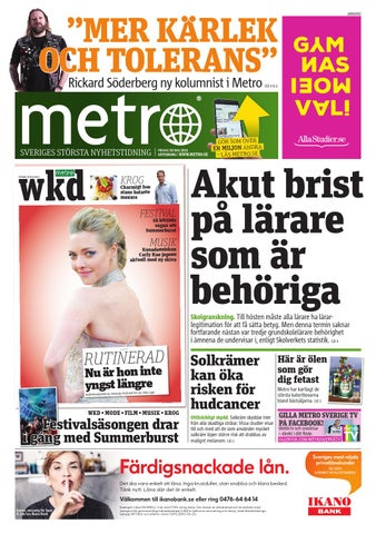 huge discount 41612 9acc0 20150529 se goteborg by Metro Sweden - issuu