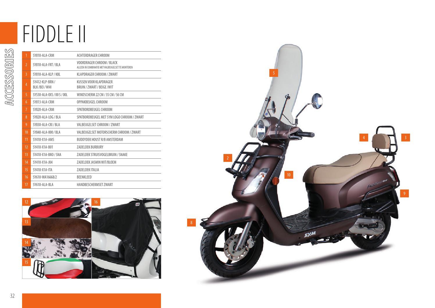 Kussen Wit 16 : Sym 2015 catalog nl by moteo issuu