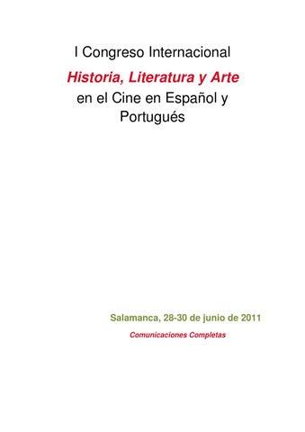 46c9e3fe0b I Congreso Internacional Historia, Literatura y Arte en el Cine en EspaĂąol  y PortuguĂŠs. Salamanca ...