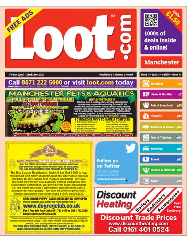 Loot Manchester, May 22nd 2015 by Loot - issuu
