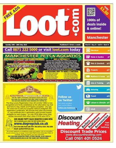 Loot Manchester, May 24th 2015 by Loot issuu