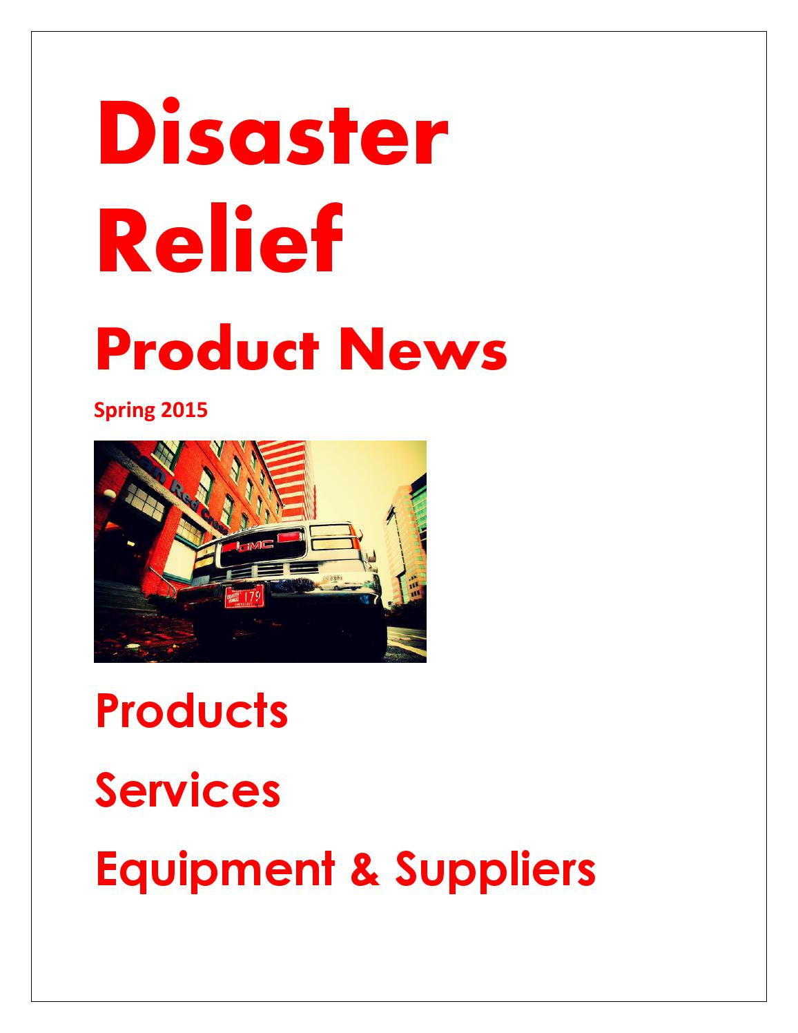 Disaster Relief by Federal Buyers Guide, inc  - issuu