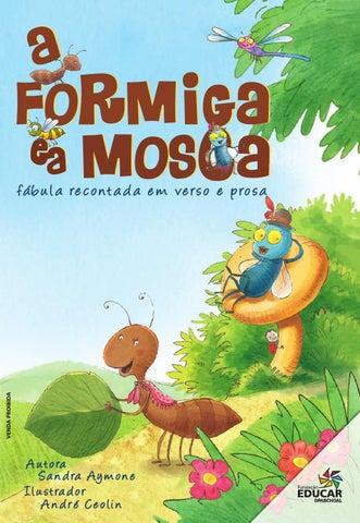A Formiga e a Mosca by Fundação Educar - issuu